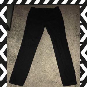 JBRAND Black Skinny Straight Leg Jeans Sz 25
